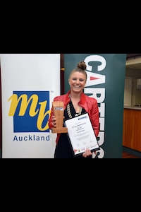 Kate Ross - Auckland Apprentice of the Year