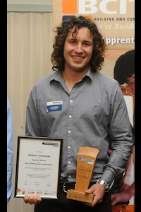 Bill Harkness - Northern Apprentice of the Year