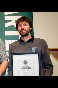 2nd place Joshua O'Neill of Atkin Construction (HB)