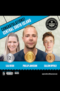 Central South Island Winners