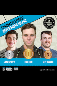 Upper South Island Winners