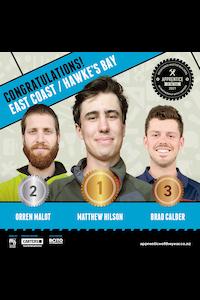 East Coast / Hawke's Bay Winners