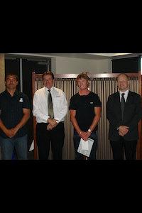 Cory Harwood Waikato Apprentice of the Year