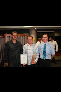 Frank Dyer, Waikato Apprentice of the Year